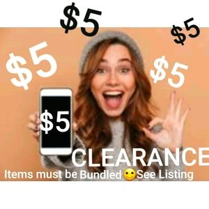 HUNDREDS & 100'S OF CLEARANCE ITEMS